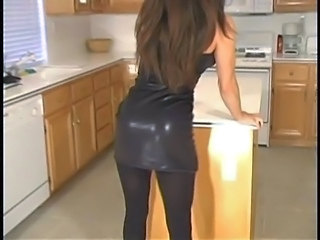 Ass Kitchen Long hair Pantyhose Pornstar