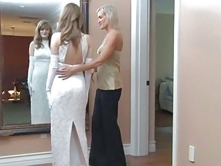 Faye Reagan goes lesbo on her wedding day