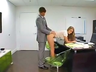 Clothed Doggystyle MILF Office Secretary
