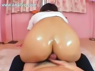 Anal Asian Ass Japanese Oiled Riding