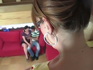 Mature Mom Threesome