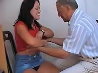 Amateur Daddy Homemade Older Old and Young Strapon