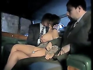 European Italian MILF Stockings Threesome Vintage