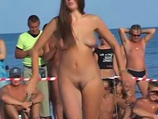 Beach Dancing Nudist Outdoor Public