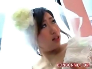 Asian Bride Bus Japanese Teen
