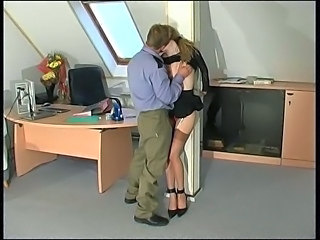 Office Russian Stockings Teen