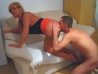 Amateur CFNM Licking MILF Stockings