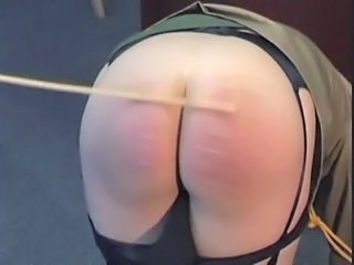 Army Discipline - Spanking with the Cane