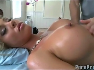 Big Tits Massage MILF Nipples Silicone Tits