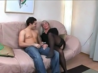 MILF Russian Stockings
