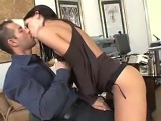 Amazing Kissing MILF Office Secretary