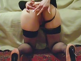 Amateur Ass Masturbating Stockings Upskirt