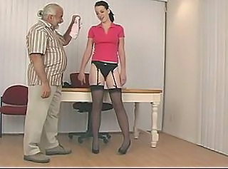 Cute Daddy Old and Young Stockings Teen