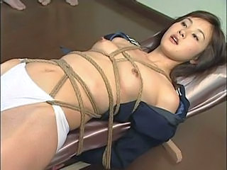 All their cum on her asian bo...