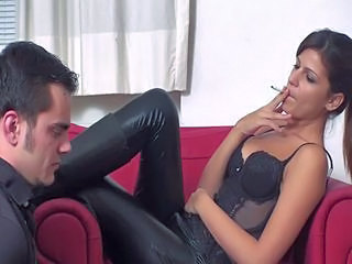 Cindy - Dominant smoking and ...