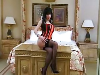 Amazing Corset MILF Softcore Stockings