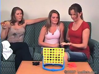 Girls Playing Strip 4-in-a-row