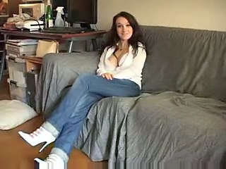 Brunette Jeans Legs Teen Young