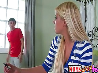 Blonde Long hair Teen