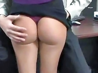Ass Office Panty Secretary Wife