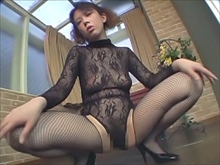 Asian Fishnet Stockings Teen