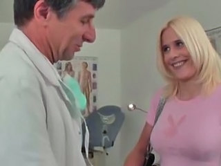 Blonde Doctor MILF Uniform