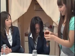 Asian Drunk Teen Threesome