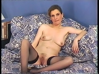 French Homemade Mature Stockings