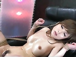 Asian Bondage Hairy MILF Nipples