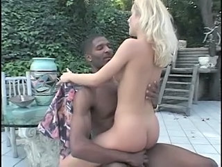 Blonde Interracial Outdoor Riding Skinny Teen