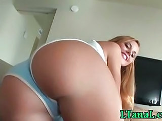 Ass Blonde Panty Teen