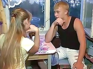 Blonde Girlfriend Russian Teen