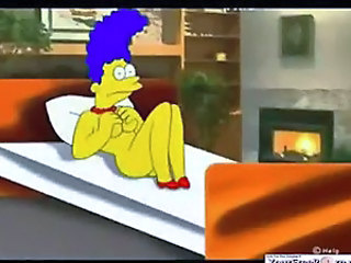 Simpsons Marge Cheats On Homer