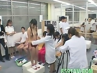 Asian Doctor Japanese School Teen