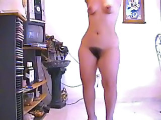 Amateur Dancing Hairy Homemade Teen