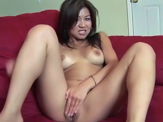 Horny asian masseuse babe