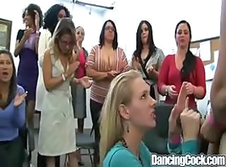 CFNM Dancing Handjob MILF Party