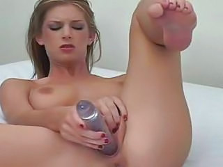 Dildo Masturbating Teen Toy