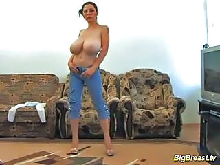 Amateur Big Tits Natural Solo Stripper Teen