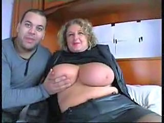 Amateur BBW Big Tits French Mature Natural