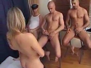 FRENCH MATURE WOMAN FUCK WITH 3 BOYS
