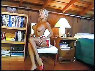 Babe Big Tits Blonde Cute Legs