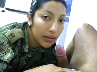 Amateur Army Blowjob Latina Pov Uniform