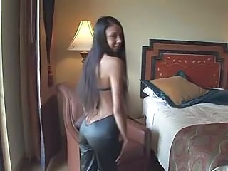 Amazing Ass Latina Long hair Teen