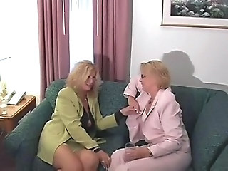 Mature MILF Threesome