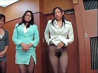 Japanese pantyhose fetish part