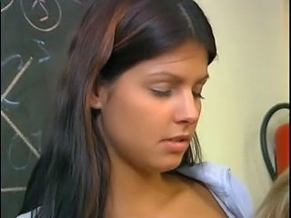 Cute School Teen