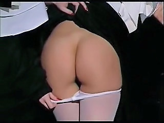 Ass Nun Pantyhose Uniform