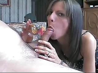 Amateur Blowjob Handjob MILF Smoking