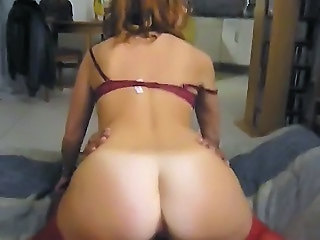 Riding bbc to orgasm..cuckold